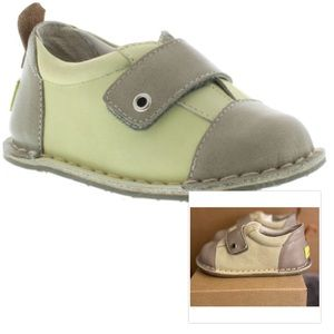 NWT! Pipit European Leather Baby Walker Shoes